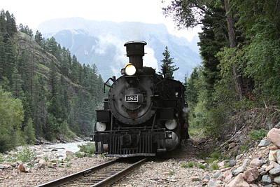 Silverton Train  In San Juan Mountains Original