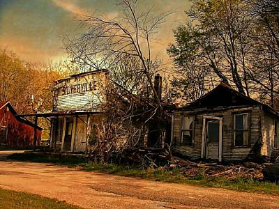 Photograph - Silverville Ghost Town In Browns by Julie Dant