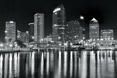 Photograph - Silvery Light In Tampa by Frozen in Time Fine Art Photography