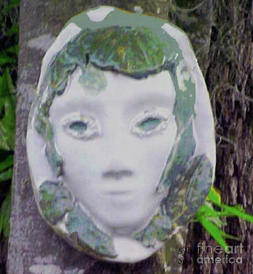 Ceramic Art - Silvia by Sandy McIntire