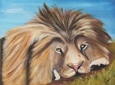 Painting - Simba by Joni McPherson