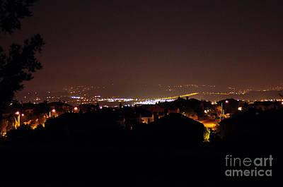 Photograph - Simi Valley At Night by Clayton Bruster