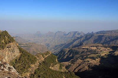 Photograph - Simien Mountains Ethiopia by Aidan Moran