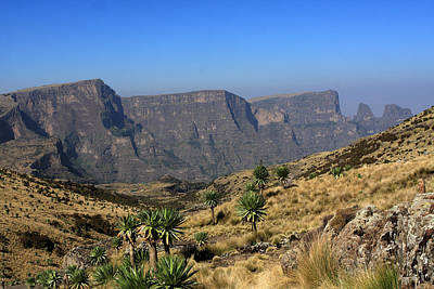 Photograph - Simien Mountains National Park by Aidan Moran