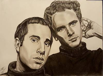 Simon And Garfunkel  Art Print