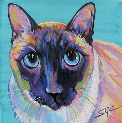 Painting - Simon by Sarah Gayle Carter