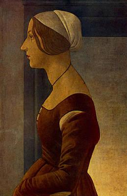 Digital Art - Simonetta  by Sandro Botticelli