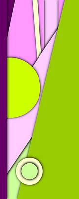 Shapes Digital Art - Simple Abstract 296 by Chris Butler