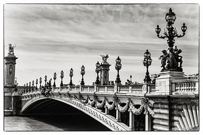 Photograph - Pont Alexandre IIi by Walt  Baker