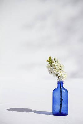 Simple Blue Art Print