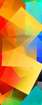 Abstract Royalty-Free and Rights-Managed Images - Simple Cubism 15 by Chris Butler