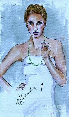 Painting - Simple Elegance by PJ Lewis