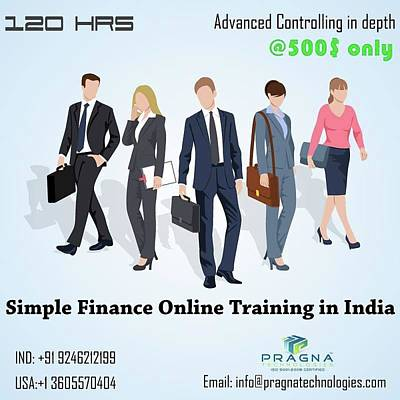 Finance Mixed Media - Simple Finance Online Training by Upendar Reddy