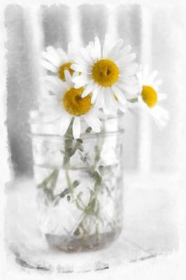 Photograph - Simple Flowers by Edward Fielding