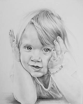 Simple Innocence  Art Print by Patrick Entenmann