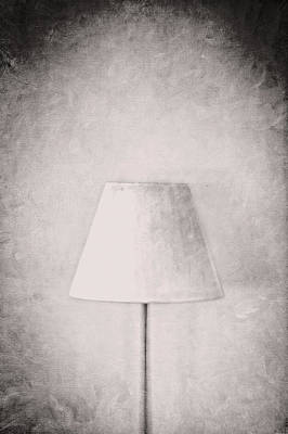 Photograph - Simple Lamp In Black And White by YoPedro