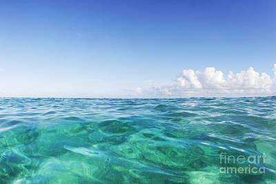 Photograph - Simple Ocean 2 by Vince Cavataio - Printscapes