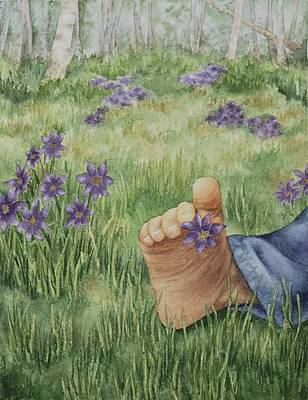 Painting - Simple Pleasures by Kathleen Keller