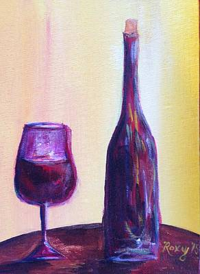 Food And Beverage Painting - Simple Pleasures by Roxy Rich