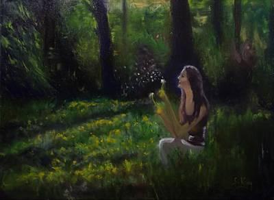 Painting - Simple Pleasures by Stephen King