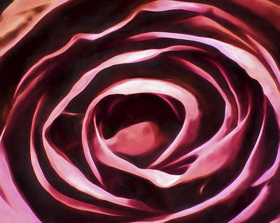 Painting - Simple Rose by Joe Sparks