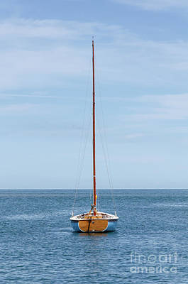 Photograph - Simple Sailboat  by Steev Stamford