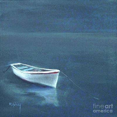 Simple Serenity - Lone Boat Art Print