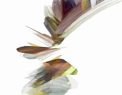 Digital Art - Simple Strokes by Margie Chapman