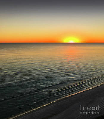 Photograph - Simple Sunset by Walt Foegelle