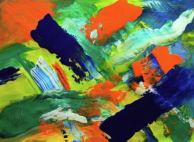 Painting - Simple Things by Everette McMahan jr