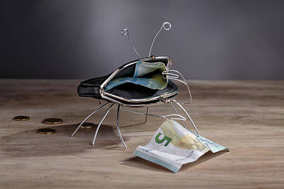 Purses Photograph - Simple Things - The Crab by Nailia Schwarz