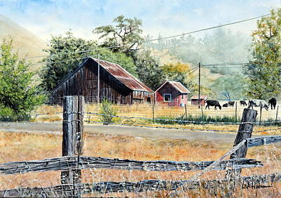 Painting - Simpler Times by Bill Hudson