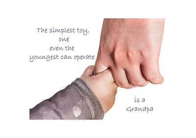 Photograph - Simplest Toy Grandpa by Sandra Clark