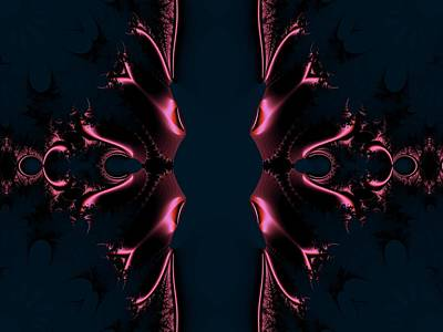 Digital Art - Simplicity 2 by Nancy Pauling