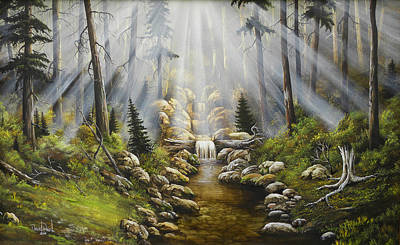 David Paul Painting - Simplicity by David Paul