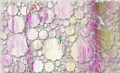 Mixed Media - Simplicity Decorative Abstract by Georgiana Romanovna