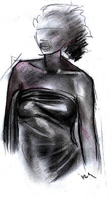Simplicity Of Beauty Art Print by Okwir Isaac