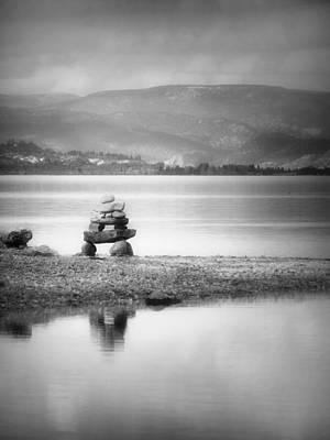 Inukshuk Photograph - Simplicity by Tara Turner