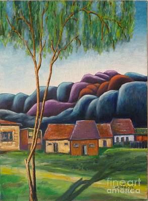 Painting - Simplicity by Ushangi Kumelashvili