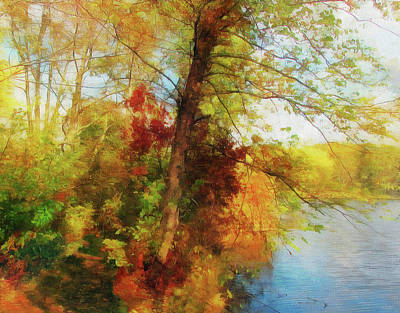 Photograph - Simply Autumn by Cedric Hampton