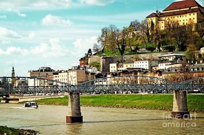 Simply Beauty Of Salzburg Original by Elzbieta Fazel