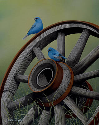 Painting - Simply Blue by Don Engler