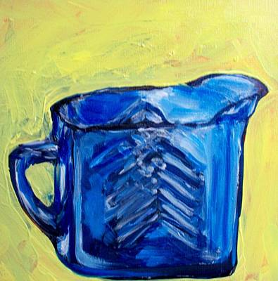 Painting - Simply Blue by Sheila Tajima