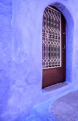 Simply Blue Art Print by Steve Outram