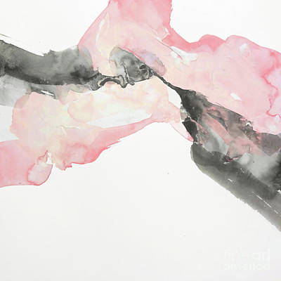 Wall Art - Painting - Simply Blush 1 by Chris Paschke