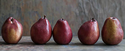 Tasty Photograph - Simply Pears by Maggie Terlecki