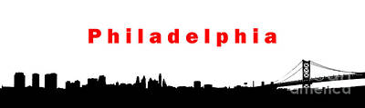 Photograph - Simply Philadelphia by Olivier Le Queinec