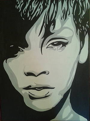 Rihanna Photograph - Simply Rihanna by Aunidan Christi