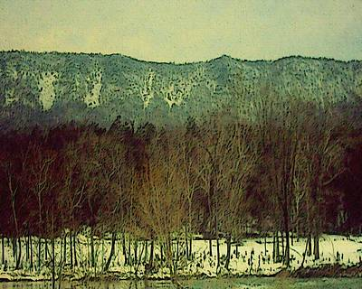 Mountain Valley Mixed Media - Simply Shenandoah by Susan  Epps Oliver