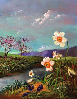 Painting - Simply Spring by Randy Burns